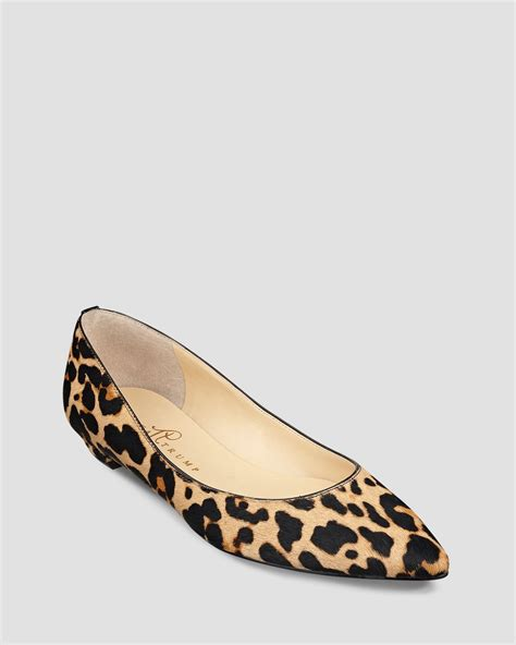 ivanka flats shoes ivanka pointed toe flats tizzy in brown lyst