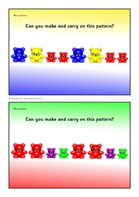 pattern games for eyfs free worksheets 187 repeating patterns worksheets eyfs
