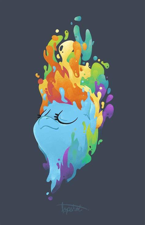 melting pony rainbow dash melt my pony beautiful