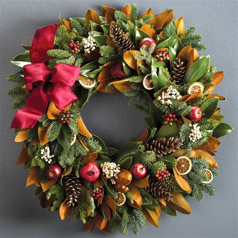 holiday wreath fresh christmas wreaths centerpieces holiday wreath