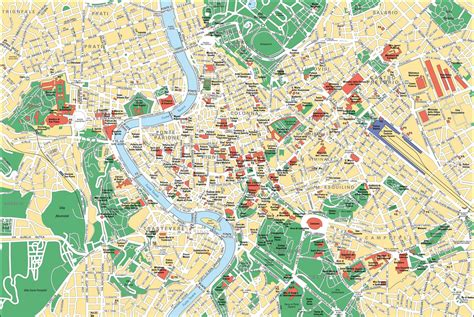 rome map tourist attractions map of rome tourist attractions sightseeing tourist tour