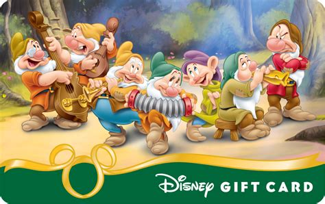 Disney Com Gift Card - image snow white and the seven dwarfs doc sneezy happy bashful dopey sleepy and