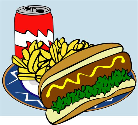 lunch clipart fast food menu lunch clip at clker vector clip