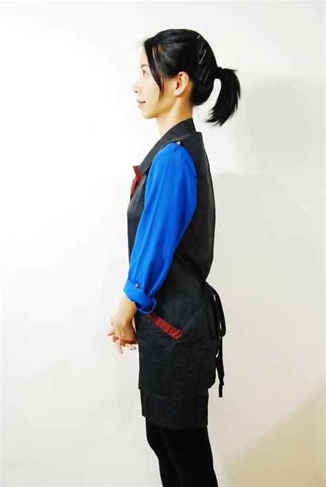 Hair Stylist Vest by Hair Stylist Salon Wear Vest Shoo Cape Smock