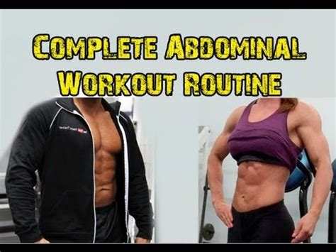 complete ab workout program
