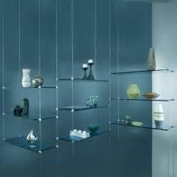 suspended glass display shelves hanging glass shelves d corate shelves