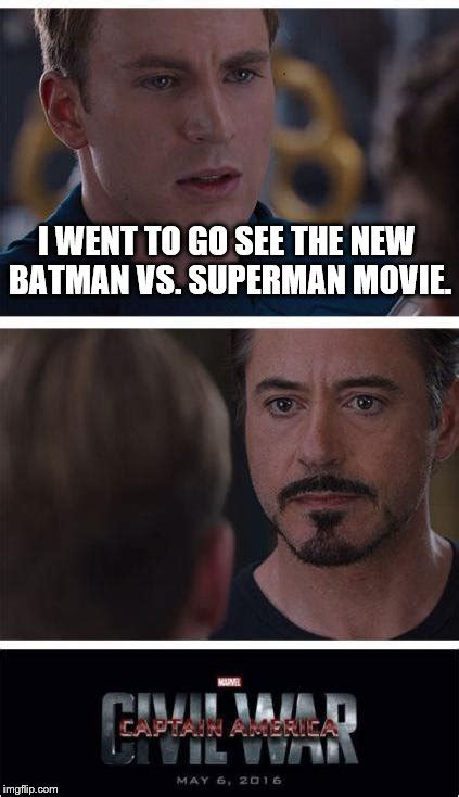 Movie Meme Generator - marvel civil war 1 meme imgflip