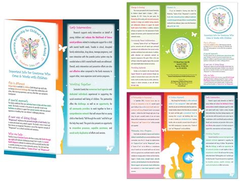 Tri Fold Brochure Exles Clipart Best Free Mental Health Brochure Templates