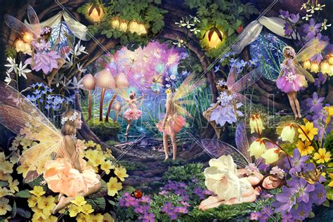 magical fairy forest murals gallery