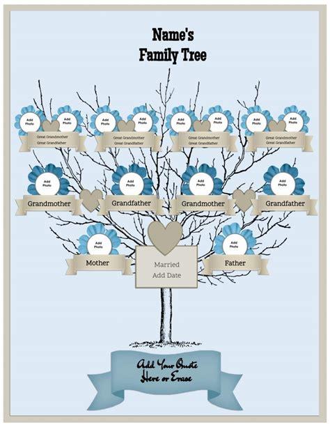 cool family tree template family tree template