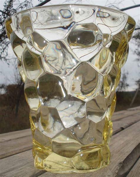 p d avesn vase verre moul 233 deco ebay