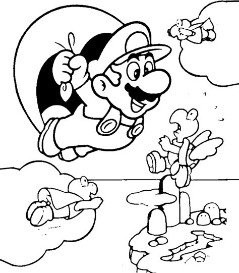 coloring pages for mario super mario coloring pages free printable coloring pages