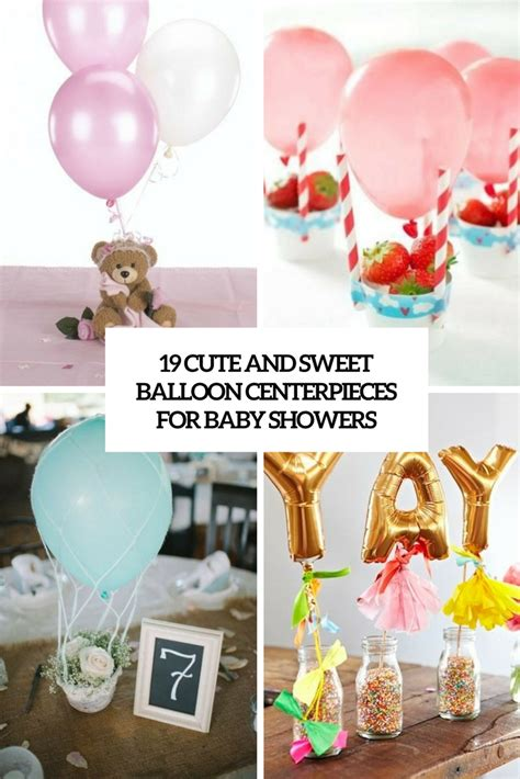 balloon centerpieces for baby shower 19 and sweet balloon centerpieces for baby showers