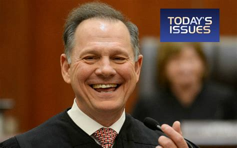 roy moore on the issues american family radio judge roy moore and a discussion
