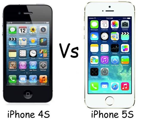 Iphone 4 4s 5 5s 6 apple iphone 4s vs apple iphone 5s