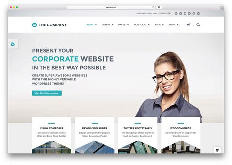 40 best wordpress corporate business themes of 2017
