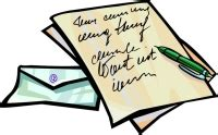 Business Letter Clipart Riting Letter Clipart