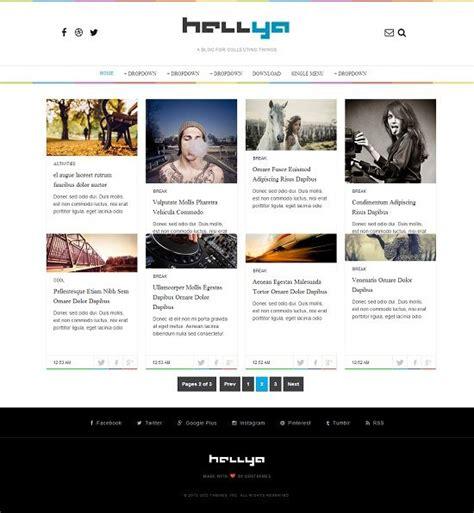templates blogger portfolio hellya portfolio blogger template 187 abtemplates com