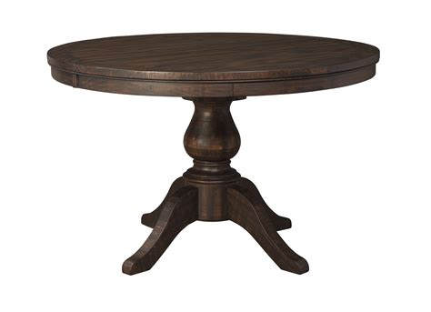 ashley furniture trudell brown  dining table