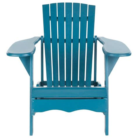 Teal Adirondack Chairs by Patio Sense Coconino All Weather Wicker Patio Adirondack