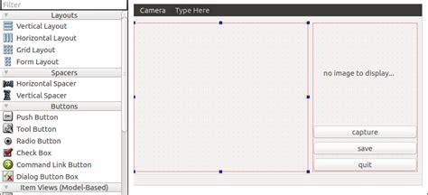 qt5 qmainwindow layout qt5下实现摄像头预览及捕获图像方法一 mr ant 博客园