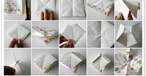 Origami Ribbon - tutorial origami ribbon bow handmade