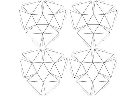 sphere net template clipart 47 net geodesic sphere