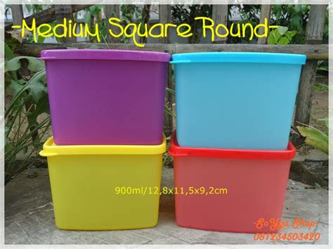 Tupperware Medium Square tupperware promo juli soyya shop