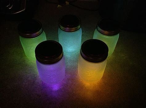 Diy Solar Powered Mason Jar Lights Lantern Craft Solar Lights For Crafts
