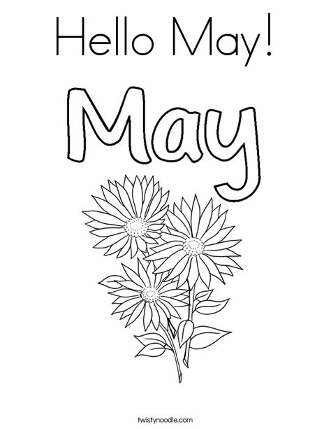 coloring pages may hello may coloring page twisty noodle