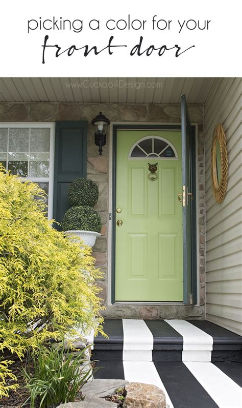 painting exterior door picking the right color and painting exterior doors
