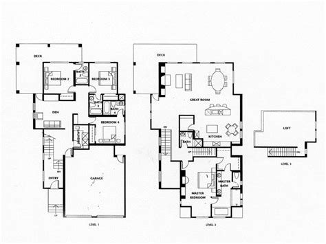 housing floor plans luxury homes floor plans 4 bedrooms luxury log home floor