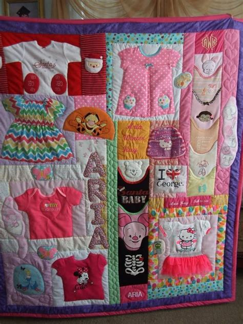 How To Make Patchwork Quilt From Baby Clothes - best 25 baby clothes quilt ideas on baby