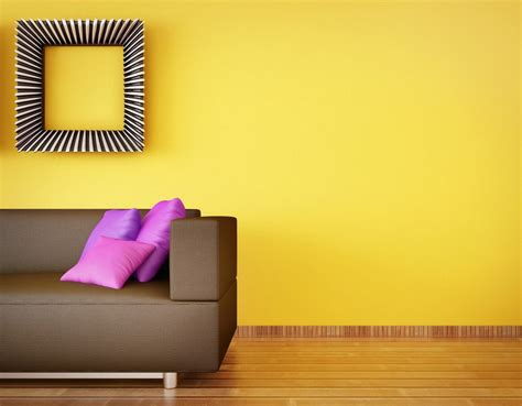yellow house interiors interior decoration yellow walls
