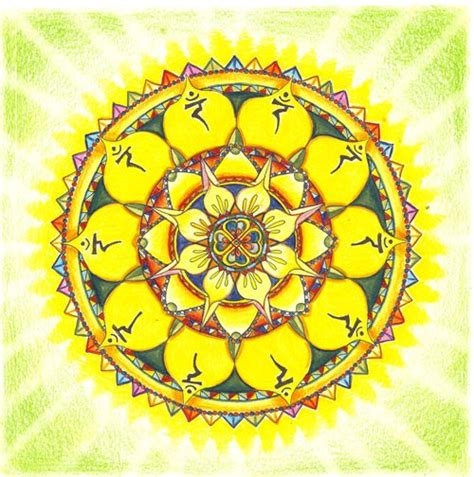 solar plexus chakra tattoo mandalas solar and anxiety on pinterest