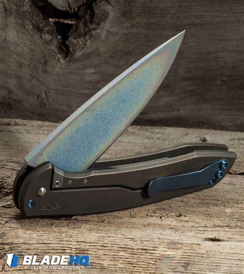 ferrum forge ferrum forge stinger flipper knife titanium 3 3 quot sm 100