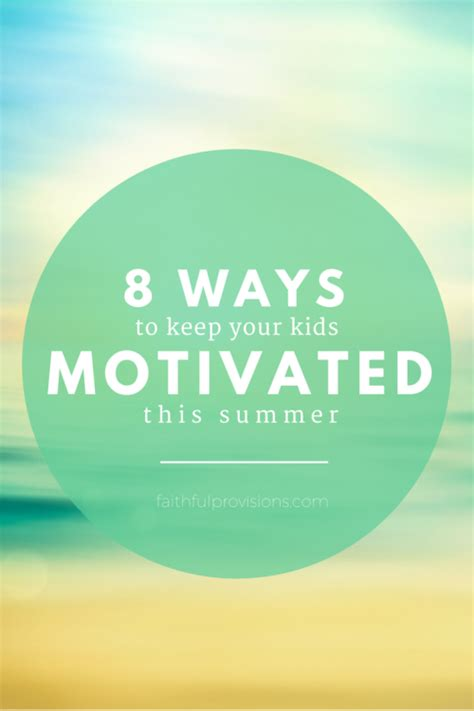 8 Ways To Hes A Keeper by 8 Simple Ideas To Keep Your Motivated This Summer