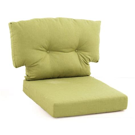 Martha Stewart Living Patio Furniture Cushions with Martha Stewart Living Charlottetown Green Bean Replacement Outdoor Swivel Chair Cushion 89 55644