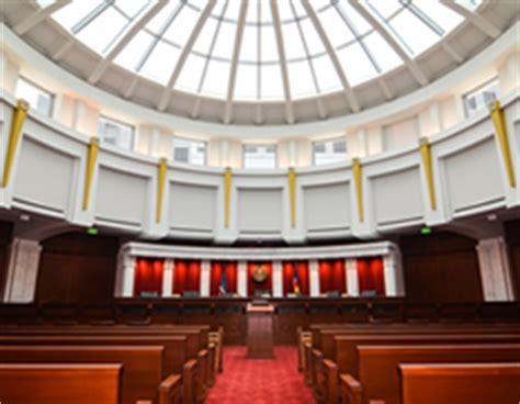 Supreme Court Room by Colorado Judicial Branch Courts