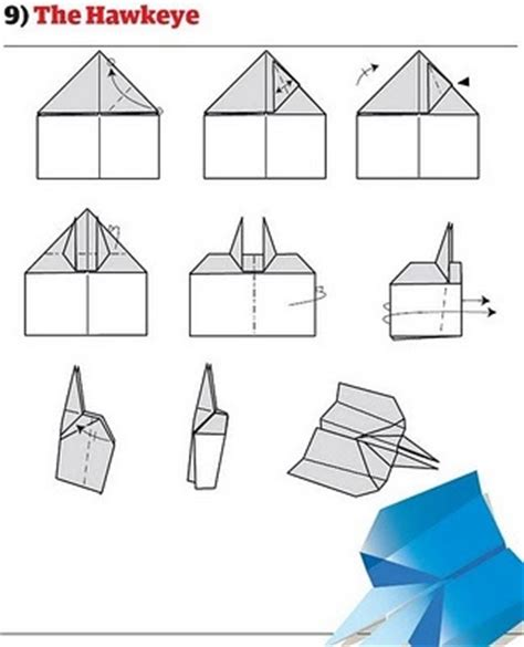 Fold Paper Airplane - how to fold 12 awesome paper planes made diy