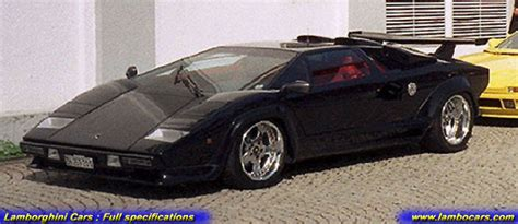 Custom Lamborghini Countach Lamborghini Countach Lp400 S Turbo High Resolution Images
