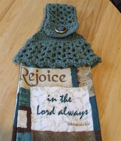 Crochet Kitchen Towel Topper by Best Crochet Towel Topper Patterns Yishifashion