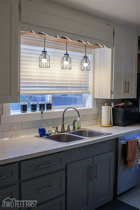 kitchen sink lighting 30 awesome kitchen lighting ideas 2017