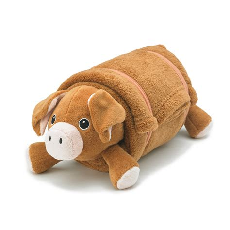 Brown Pillow Pet by Brown Pig Pet Plush Pillow With Blanket Nap Mat Cover Pillow Blanket