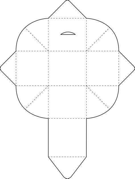 box template printable activity shelter