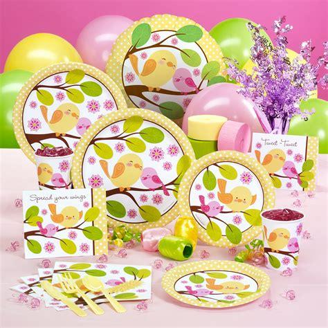 Bird Baby Shower Supplies great ideas for baby shower supplies free