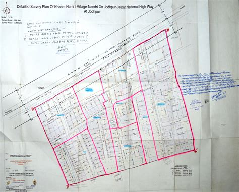 layout plan number layout plan