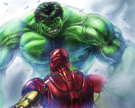 colors hulk iron man likodemus deviantart