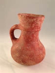 Handmade Clay Pots - vintage clay pot or vase handmade