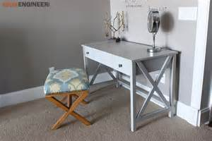 Diy Vanity Table Plans White Flip Top Vanity Featuring Rogue Engineer Diy Projects